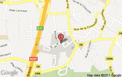 Cabinet de recrutement lille plan d 39 acc s lincoln - Cabinet de radiologie villeneuve d ascq ...